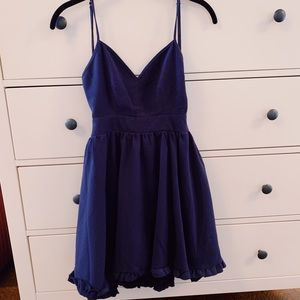 Lulus Navy Dress